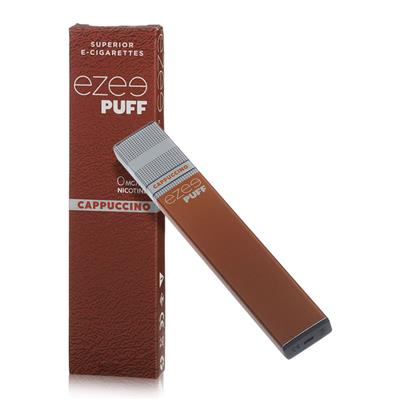 Ezee Puff Disposable E-cigarette Cappuccino Nicotine Free