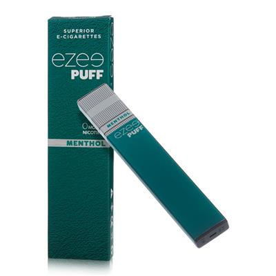 Ezee Puff Disposable E-cigarette Menthol Nicotine Free