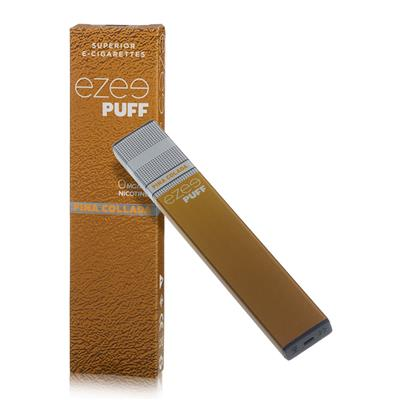 Ezee Puff Disposable E-cigarette Pina Colada Nicotine Free